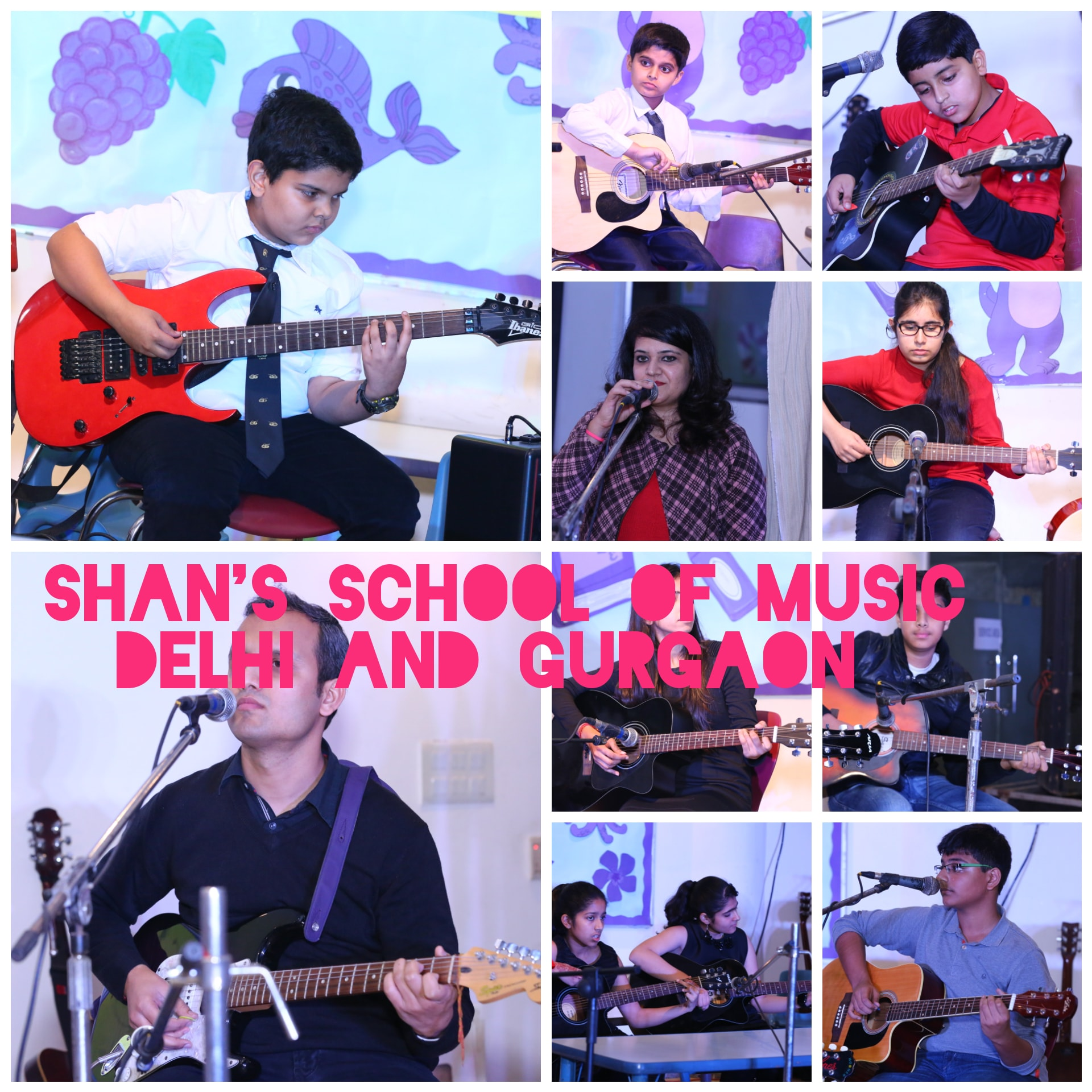 New classes for Music, Dance, Vocals, Guitar and Piano at Vasant kunj, Gurgaon Sector 30,41,49,50